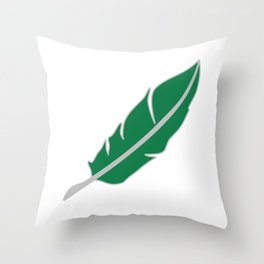 Snake House Quill Throw Pillow