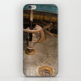 Gears at the Distillery iPhone Skin