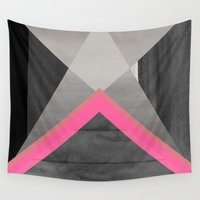 pyramid Wall Tapestries featuring pyramid by Georgiana Paraschiv