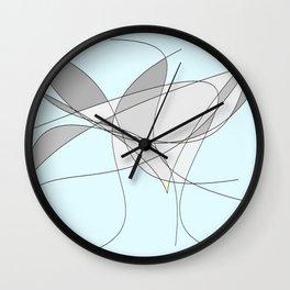 The Bird Abstract Wall Clock