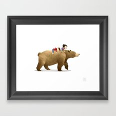 Wild Adventure - Bear Framed Art Print