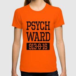 Psych Ward Shirt   Halloween Inmate - T Shirt T-shirt