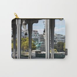 Pont de Bir-Hakeim in Paris Carry-All Pouch