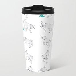 Karson the Chihuahua Metal Travel Mug