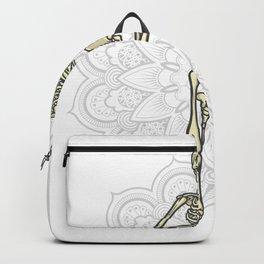 Yoga skeleton Best Gift Backpack