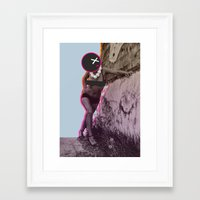 disco Framed Art Prints featuring Disco by cocktu