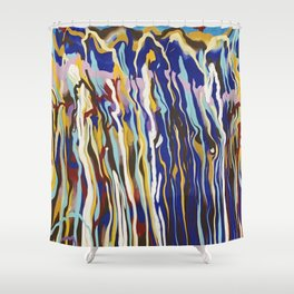 Music Jazz Fusion Shower Curtain