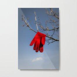 Lost Glove Metal Print