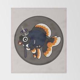 Goldfish Jim Moriarty Throw Blanket
