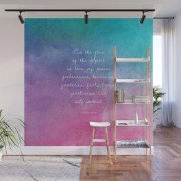 Galatians 5:22-23, Fruit of the Spirit Scripture Quote Wall Mural