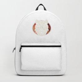 Awesome Bohemian Wolf Head Galaxy Mandala Geometric Backpack
