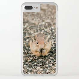 Chipmunk Clear iPhone Case