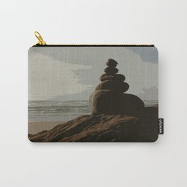 Stacked Rocks Carry-All Pouch
