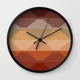 Geometric Aztec II Wall Clock