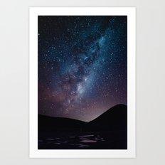 New Zealand's Night Sky Art Print
