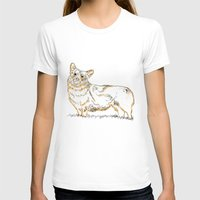 corgi T-shirts featuring Corgi!!!! by katieWalkerDesigns