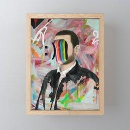 Smiley Face Framed Mini Art Print