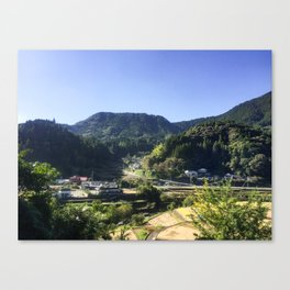 Toho Village Canvas Print