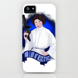 Our Lady of Resistance iPhone Case