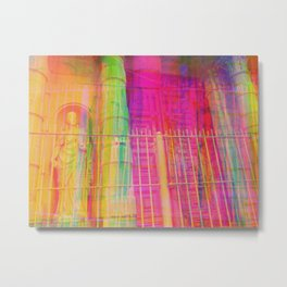 Multiplicitous extrapolatable characterization. 17 Metal Print