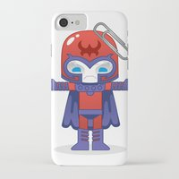 magneto iPhone & iPod Cases featuring MAGNETO ROBOTIC by We Are Robotic