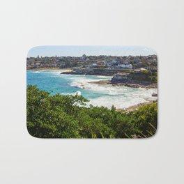 Sydney Coastline Bath Mat