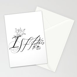 ISFP Myers–Briggs Type Indicator Stationery Cards