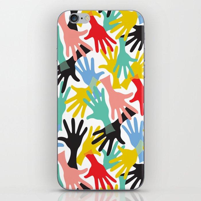 CELEBRATE! Graphic Hands iPhone Skin