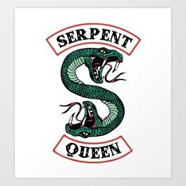 Serpent Queen Art Print