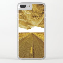 Lost Horizon Vertical3 Clear iPhone Case