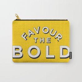 Favour the BOLDER Carry-All Pouch