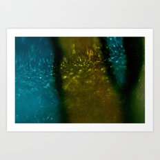 Light Drips III Art Print
