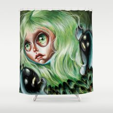 Mother of Spirits :: Pretty Little Scamps Shower Curtain