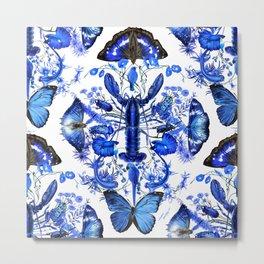 Ultramarine (pattern) Metal Print