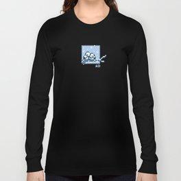 8-Bit Snuggles Long Sleeve T-shirt