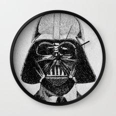 Darth Vader portrait Wall Clock