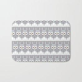 Silver Grey Bunny Rabbit - Super Cute Animals Bath Mat