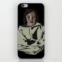 abigail larson iPhone & iPod Skins featuring Abigail by biancahatesyou