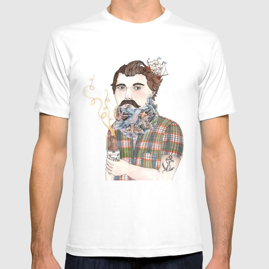 Flock of Beards T-shirt