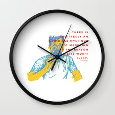 Aesop Rock Wall Clock