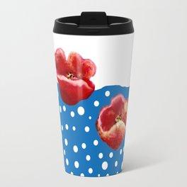 Coquelicot et flux Travel Mug