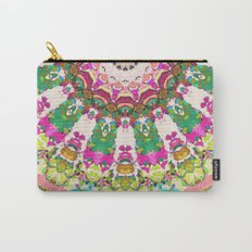 Abstract Sun Rays Mosaic Carry-All Pouch