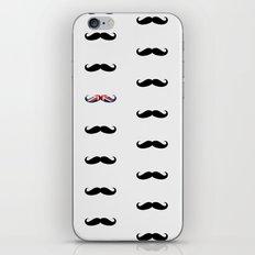 Union Jack Mustache iPhone & iPod Skin