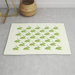 Godzilla pattern Rug
