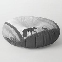 Reunited Floor Pillow