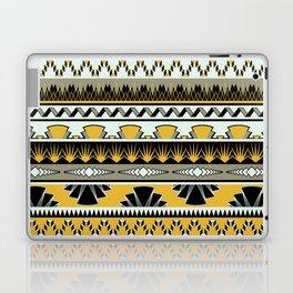 art deco stripes - honey Laptop & iPad Skin