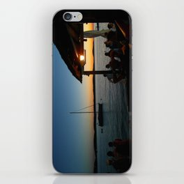 Croatian Sunset iPhone Skin