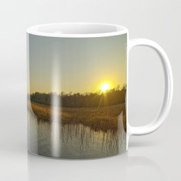 Red Canoe at South River Coffee Mug