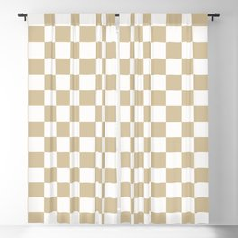 1989 Check Blackout Curtain