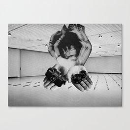 SHAKE STEP Canvas Print
